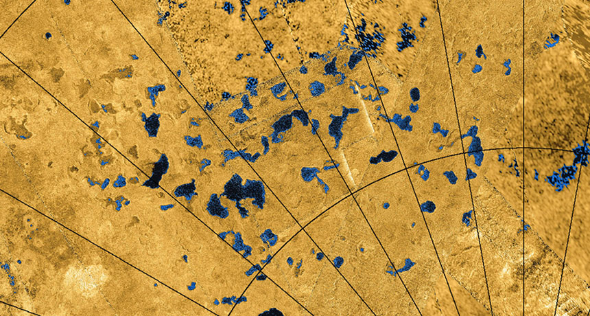 Titan's Lakes and Seas