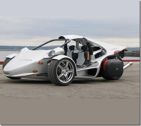 t rex three wheel sports car is big on performance nerdbeach. Black Bedroom Furniture Sets. Home Design Ideas