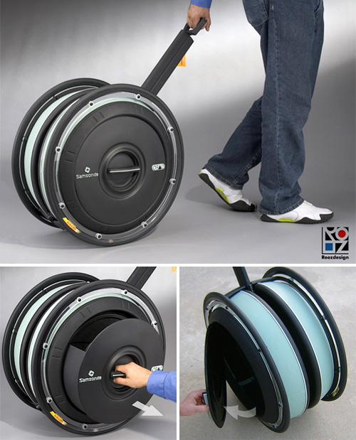 Big Wheel Luggage - NerdBeach