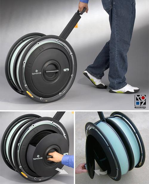 Big Wheel Luggage - NerdBeach