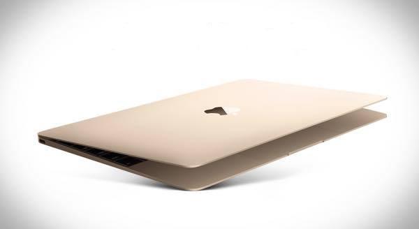 Gold MacBook Retina