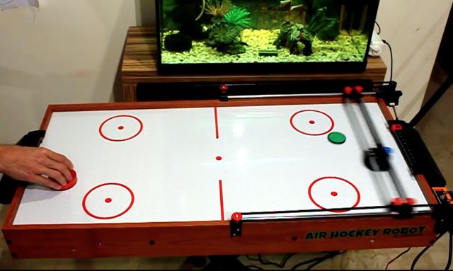 Robotic Air Hockey