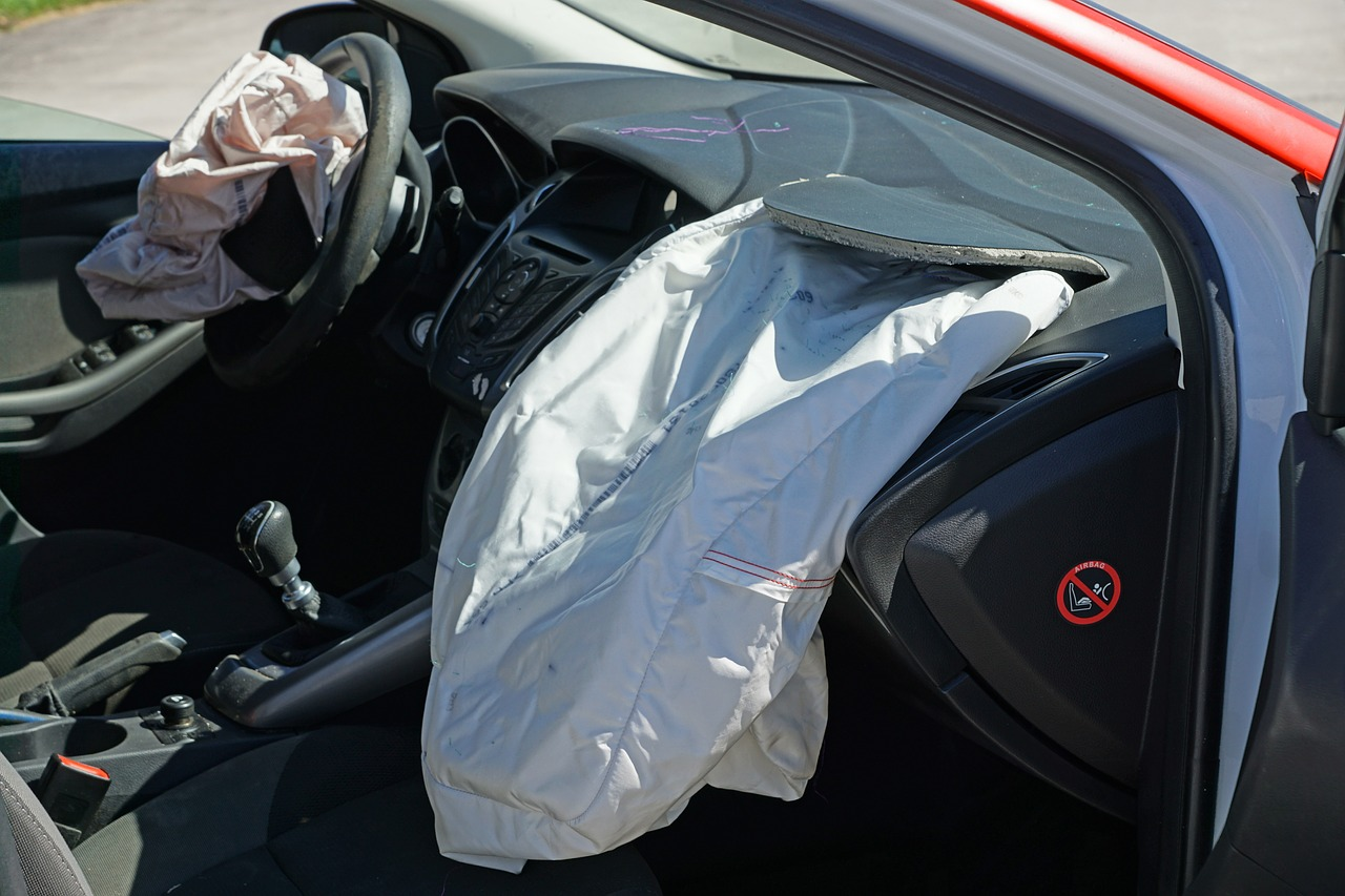 Airbags can be scary