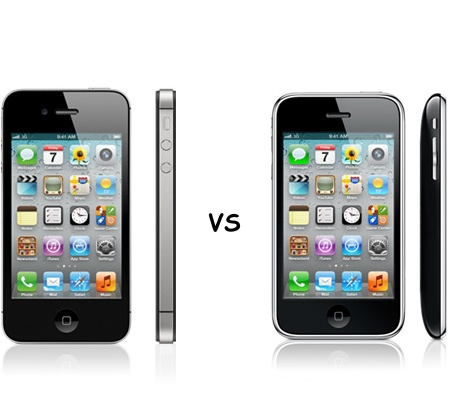 Comparing iPhone 3GS to iPhone 4S