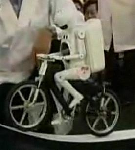 Bicycle Riding Robot Proves Robots Can Have Keen Balance