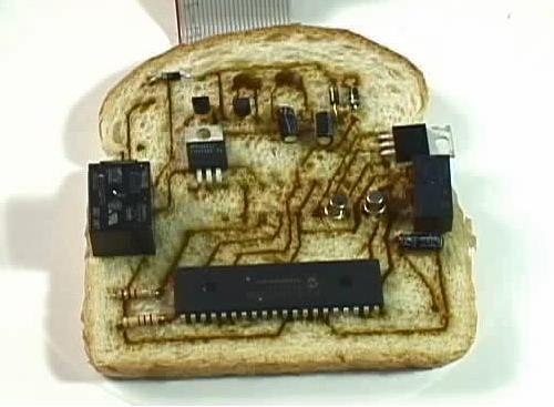 Electronic sandwich not for consumption