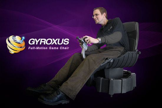 Gyroxus Video Game Chair is the Controller