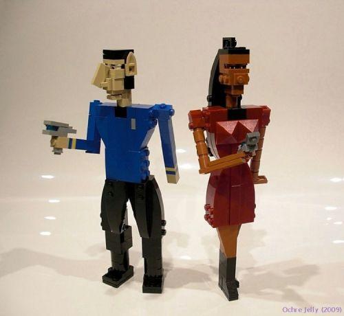 Lego Star Trek – Spock and Uhura