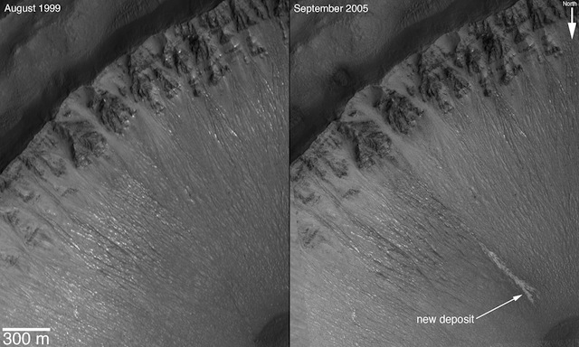 NASA Photos Appear to Confirm Water Flow on Mars