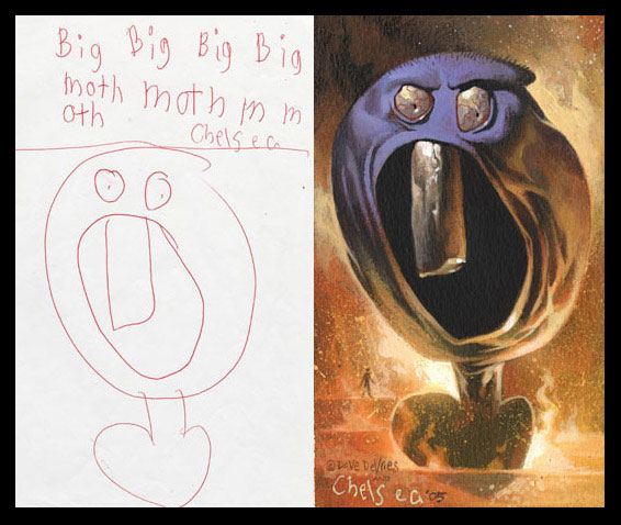 The Monster Book Brings Children's Drawings to Life