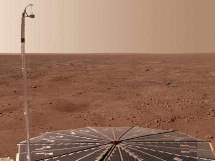 Phoenix Provides a Panorama of Mars