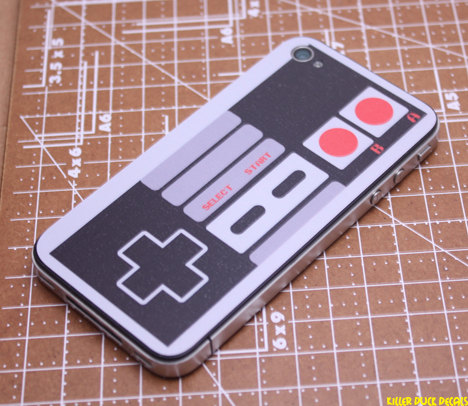 Make Your iPhone 4 Look Like a Retro Controller