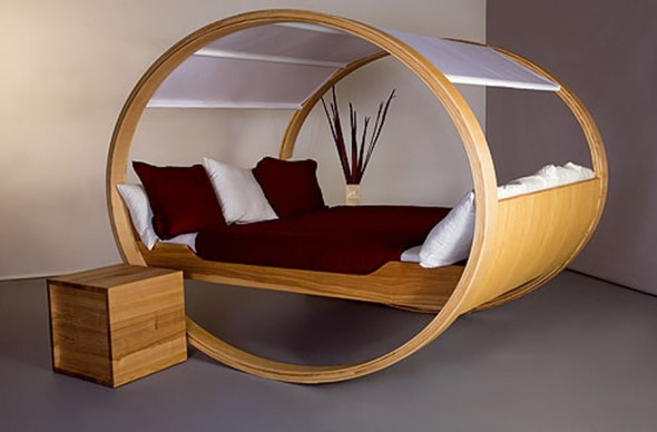 Private Cloud Bed Rocks You to Sleep