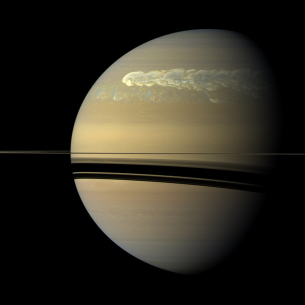 2011 Favorite Space Photos – Saturn Storm