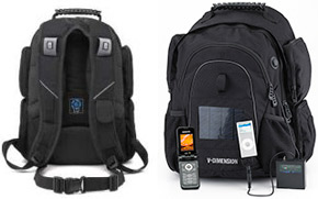 Solar Backpack Helius Keeps Your Devices Charged