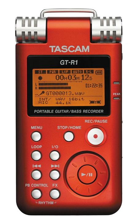 Tascam Portable Guitar and Bass Recorder is a Handy Musician Tool