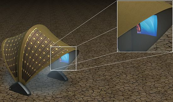 Solar Powered Tent Structure Could Aid In Remote Learning