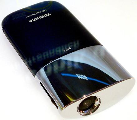 Toshiba readies LED pocket projector