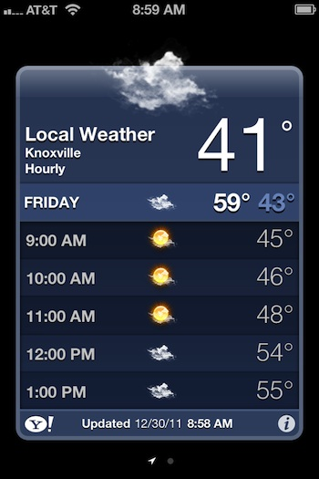 iPhone Tip: Get Hourly Weather From the Default Weather App
