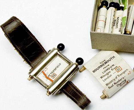 1920s Wrist GPS Navigation Unit