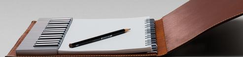 Yamaha Keyboard in a Notebook