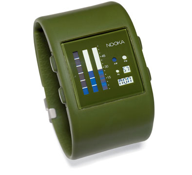 Zub Zen watch from Nooka blends band and watch
