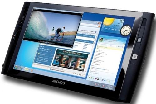 Archos Presents 9 Inch Windows 7 Tablet PC