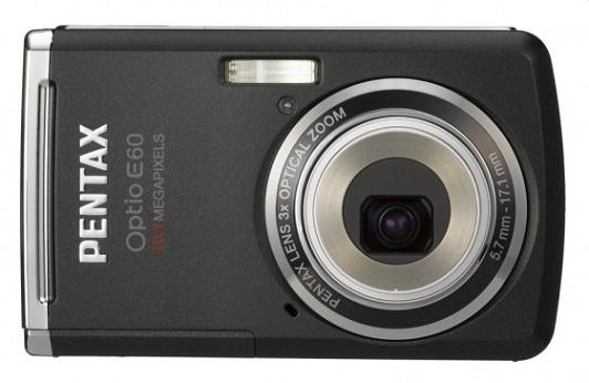 Pentax to Offer 10.1 Megapixel E60 Camera for under $140
