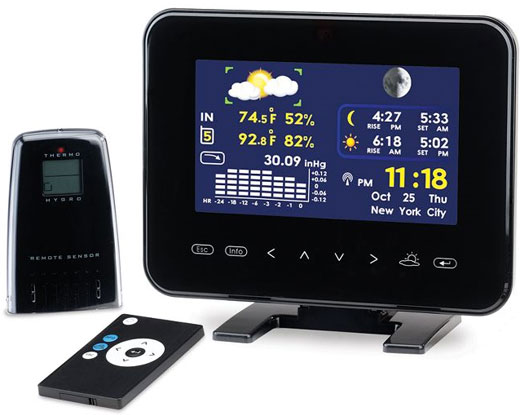 Digital Weather Station and Photo Frame Combination