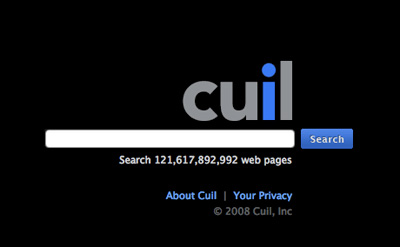 Three Problems with the Cuil Search Engine