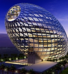 Cybertecture Egg Building Brings New Methods in Architecture