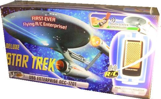 Flying RC Star Trek Enterprise Starship