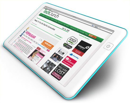 Firefox Internet Touch Tablet Aiming for  Two Hundred Dollar Price
