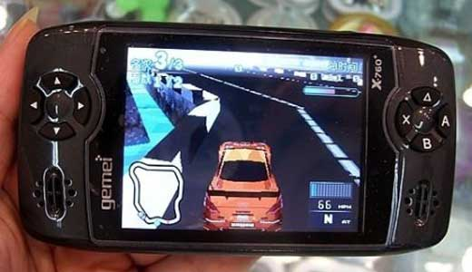 Gemei x760 Portable Media Player
