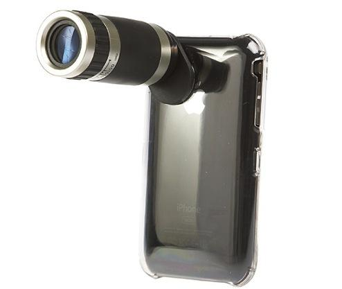 6X zoom telephoto lens for the iPhone