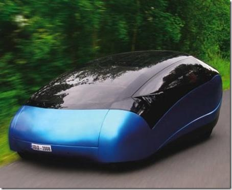 Antro Solo Car Uses Alternative Energy – Solar and Your Passengers