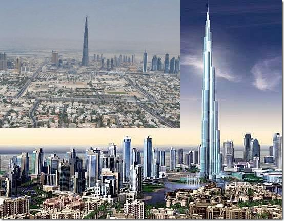 The Burj Dubai is Now the World's Tallest Building