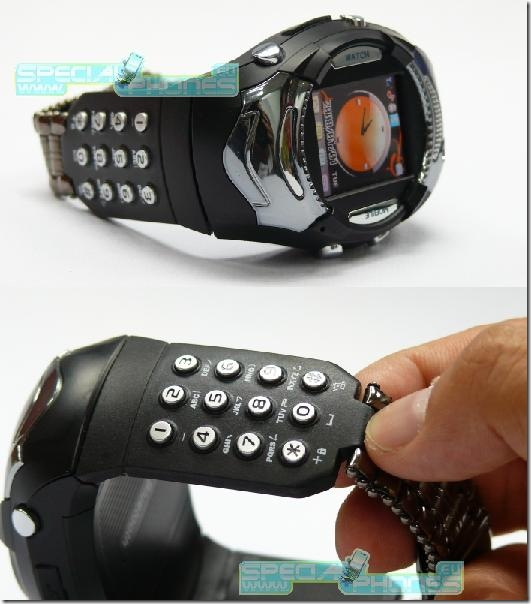 CECT Wrist Cellphone Watch Has the Missing Link – A Physical Keypad.