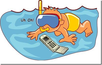 Cell Phone Water Damage Survival Tips