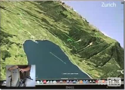 Virtual Flying Using a Bike and Google Earth