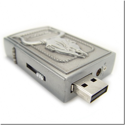 The 4GB Macho Lighter and USB Memory Stick Combination