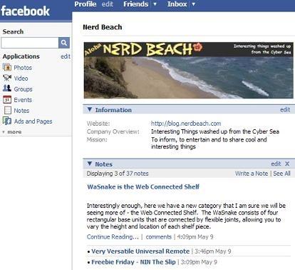 NerdBeachFaceBook