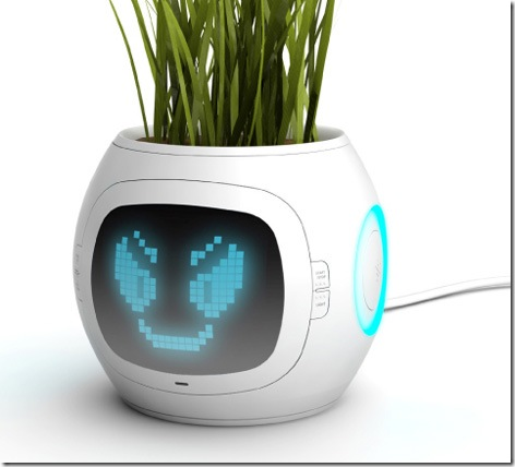Digital Planter Gives Your Favorite Plant a Face