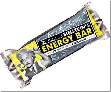 Einstein Energy Bar Proves Chocolate is Brain Food