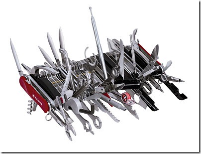 World Largest Swiss Army Knife Has 85 Tools