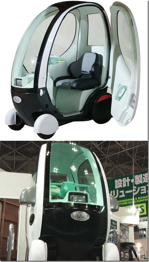 HUVO is a Pod Like Electric Concept Car