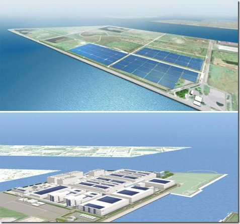 Sakai and Kansai in Japan Build Mega Solar Power Plants