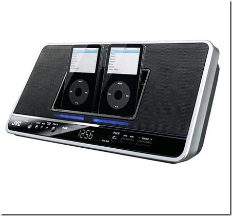 JVC NX-PN7 Dual iPod Speaker Dock