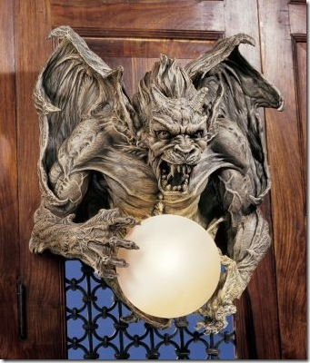 Gargoyle Light For the Brave Decorator