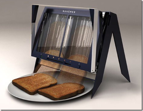 Nahamer T450 Drop Toaster Provides a Window on the Toasting Process